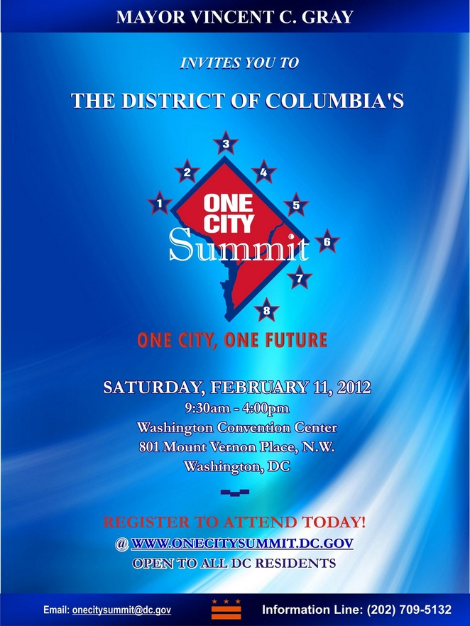 One City Summit Flyer