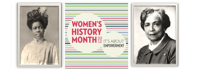 Women's History Month March 2012