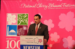 National Cherry Blossom Kick Off