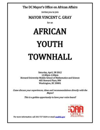 African Youth Town Hall