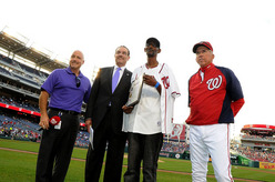 Nationals Pre-Game 'Andre Hawthorne Day' Proclamation