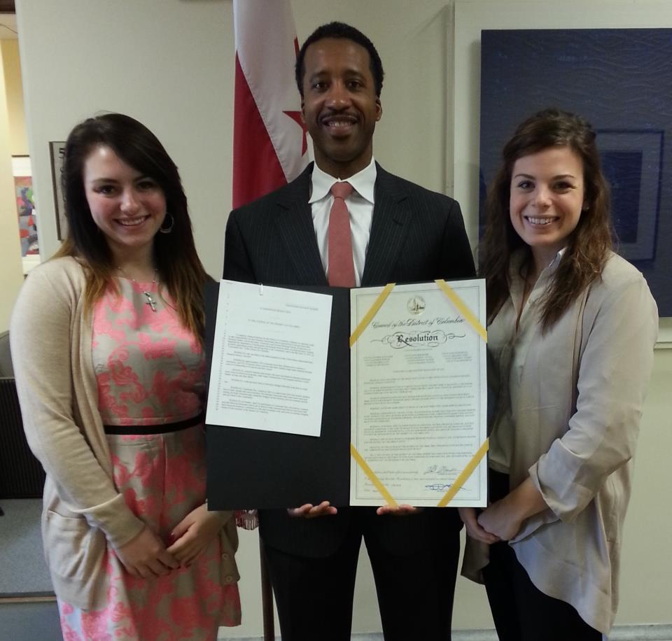 Councilmember McDuffie Honors Lemonade Day