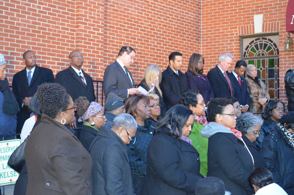 The Community Honors the Life of Mrs. Ruby Whitfield