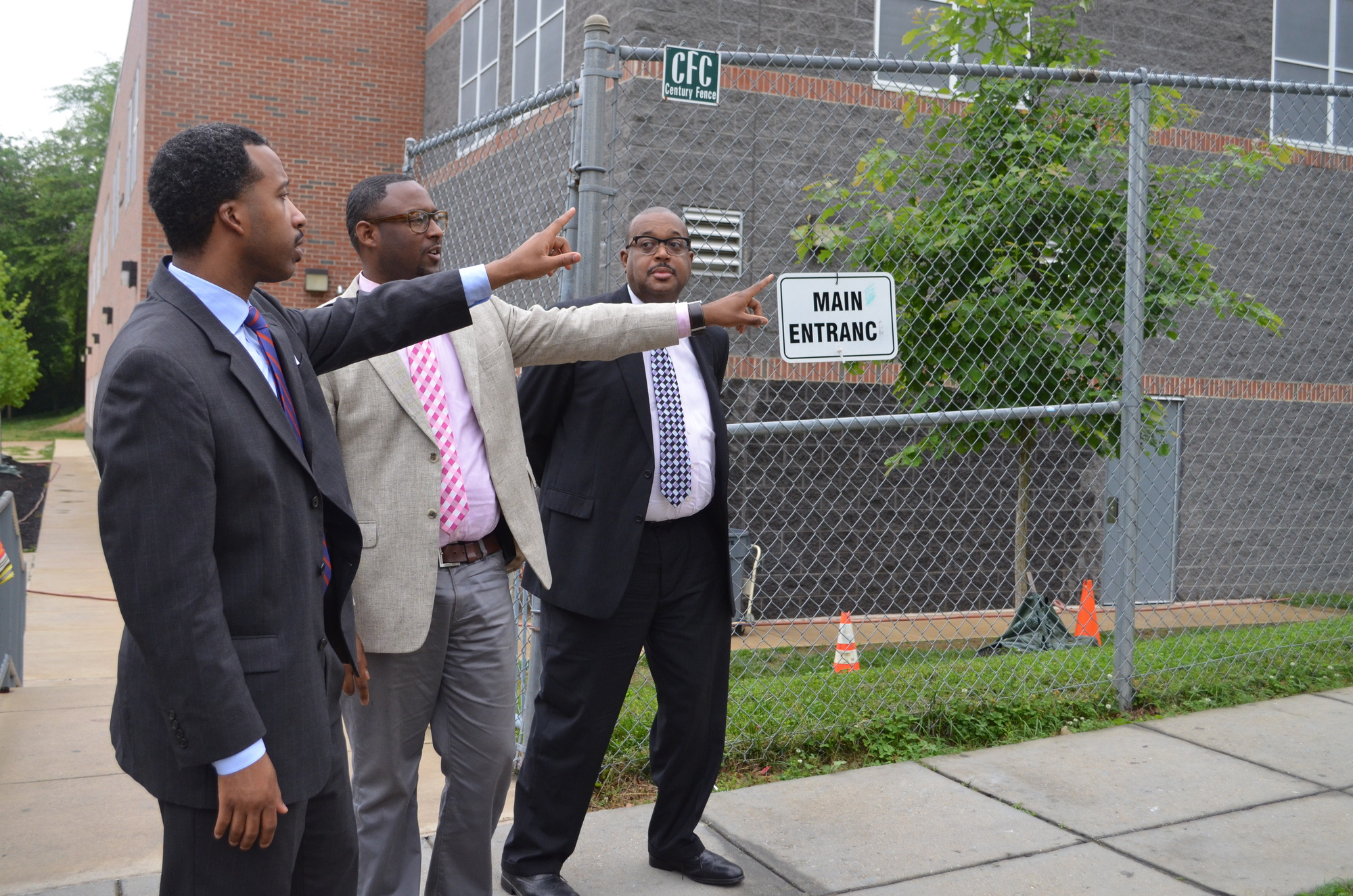 Councilmember McDuffie Addresses Traffic Concerns at Friendship Charter Public School in Woodridge