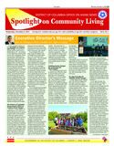 November Spotlight on Community Living