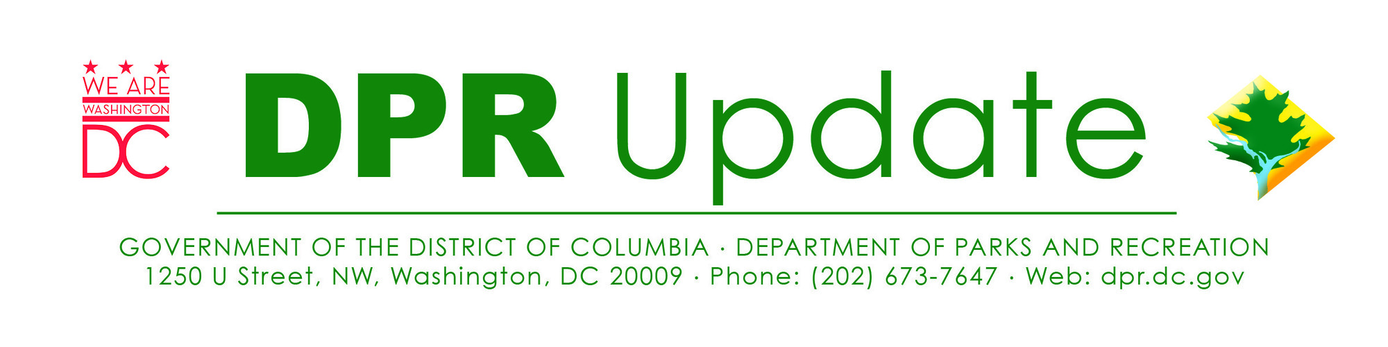 Mayor Bowser & DPR header