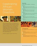 NMAfA Women Directors