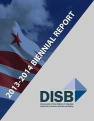 DISB Biennial Report Cover
