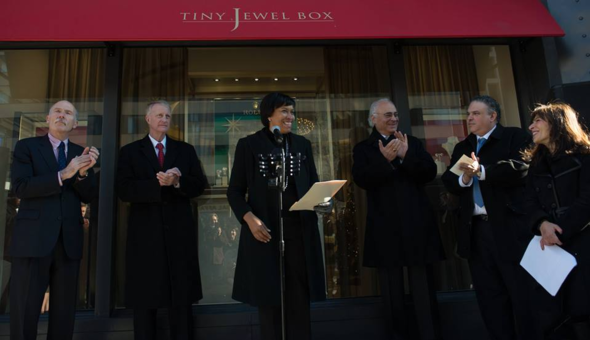 Tiny Jewel Box Ribbon-Cutting