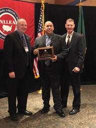 ABRA receiving award