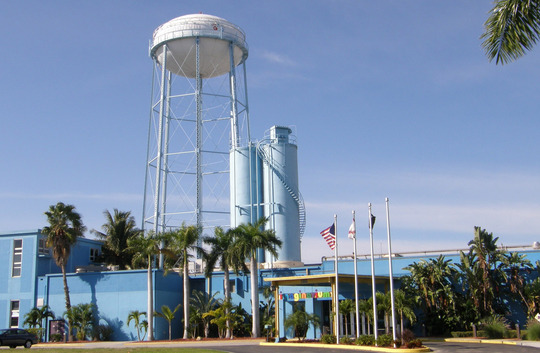 City of Ft. Myers community building transformed from a coal gasification plant.