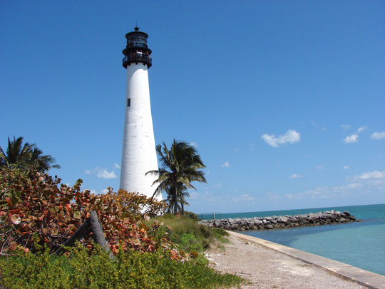 Lighthouse at Bill Baggs Cape Florida