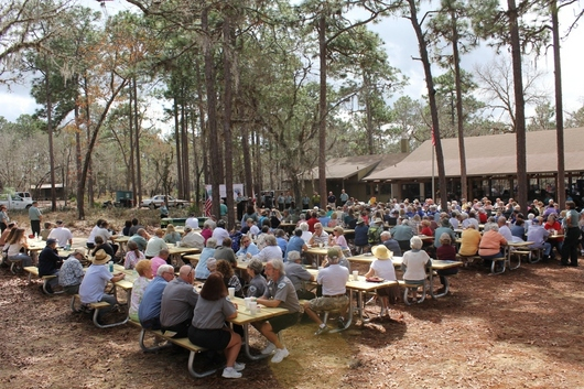 Volunteer Picnic at Wekiwa Springs State Park