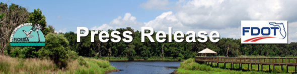 Department of Environmental Protection and Florida Department of Transportation Press Release Header