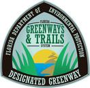 designated greenway sign