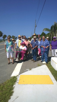 Carrabelle Trail ribbon cutting