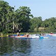Kayakers on the St. Johns River