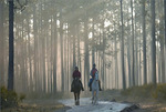 Equestrians in Apalachicola National Forest by Tracie Churchard