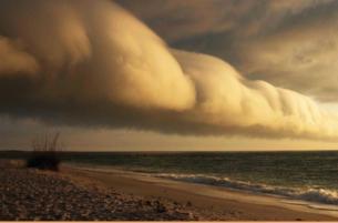 stormy sky sunset image