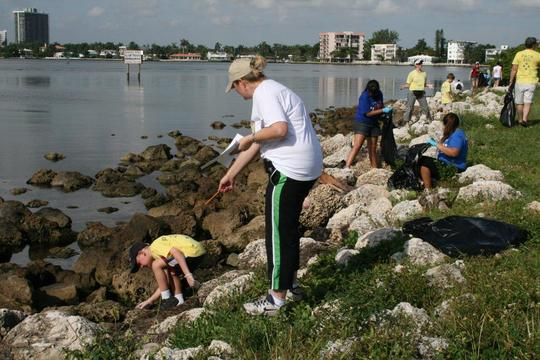 essay about coastal cleanup day florida
