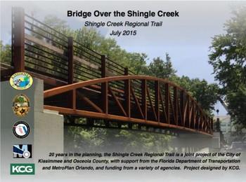 new Shingle Creek Bridge, Osceola County