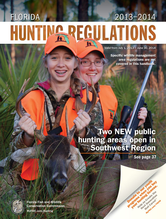 Hunting season is almost here fwc announces 2013 14 for Renew florida fishing license