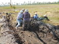Ridge Rangers repair plowline damage