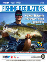 The florida freshwater angler issue 2 for Freshwater fishing license