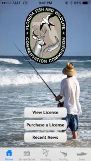 FWC Fish Hunt app