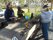 Ridge Rangers Work in Nursery