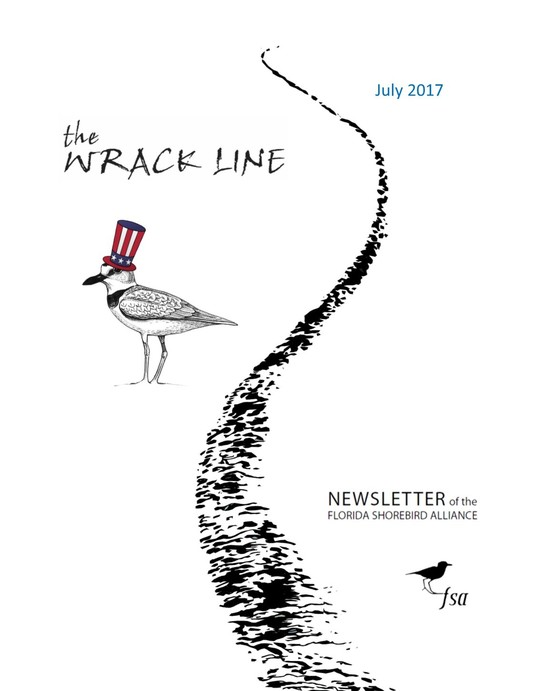 July 2017 Wrack Line Cover Photo