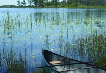 A quiet canoe trip on Western Lake - one of few coastal dune lakes in the entire world! Photo by FDEP