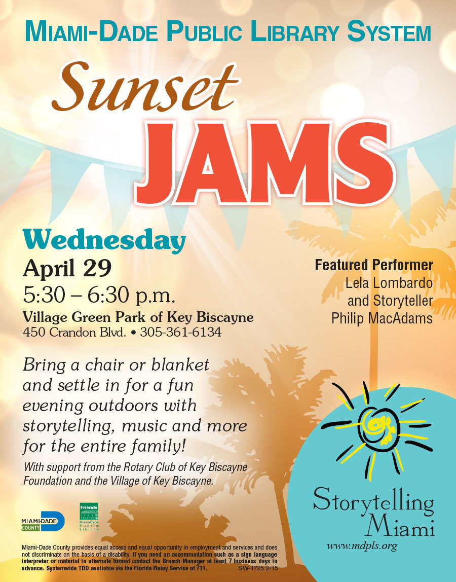 Sunset Jams - KB - Sponsor