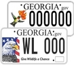 Nongame wildlife plates