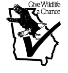 Wildlife income tax checkoff logo