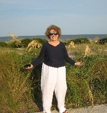 TERN member and Jekyll sea oats