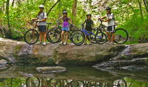 Muddy Spokes Club at Mistletoe State Park