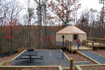 Cloudland Canyon State Park Yurt