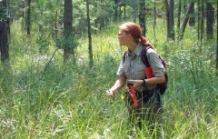 Botanist Lisa Kruse on survey