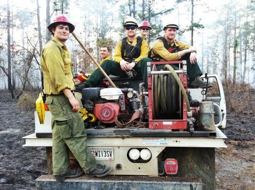 Grizzly fire crew
