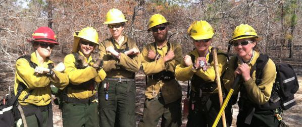 Seasonal fire crew