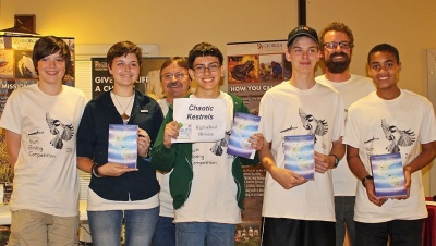 Chaotic Kestrels: 2013 Youth Birding Competition champs