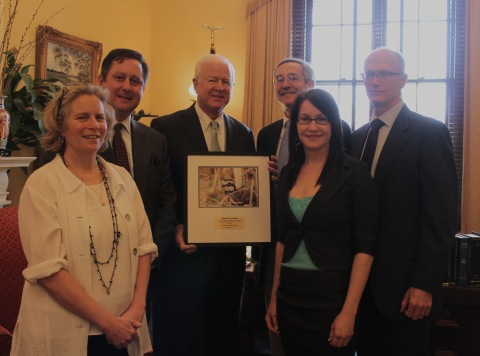 Teaming With Wildlife award for Sen. Chambliss