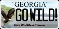 Go Wild license plate