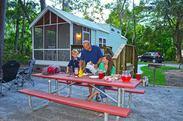 Skidaway Island camper cabin