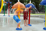 Little Ocmulgee splash pad