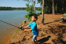Fort Yargo fishing