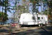 Mistletoe State Park Campsite
