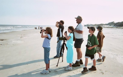 YBC birding on the beach