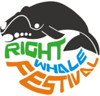 Right Whale Festival logo